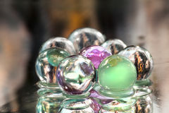 Colored spheres Royalty Free Stock Photos