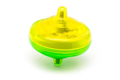 Colored Spinning Top Toy Stock Image
