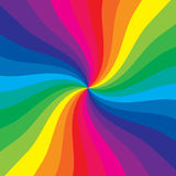 Colored spiral royalty free illustration