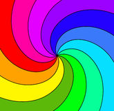Colored spiral illustration Stock Photo