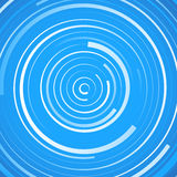 Colored spiral pattern. Concentric circles with irregular, dynamic lines. Royalty free vector illustration vector illustration