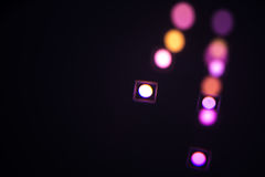 Colored spots Stock Images