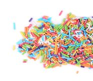 Colored sprinkles. Royalty Free Stock Photo