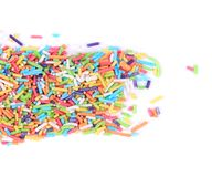 Colored sprinkles. Royalty Free Stock Images