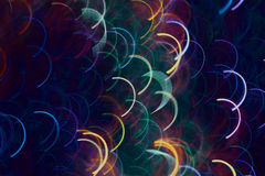 Colored squama of light lines. Stock Photos
