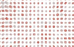 Abstract shape generative design art background. Pattern, multiple, wallpaper, box & artwork. Colored square or rectangle 3D pattern for design wallpaper Royalty Free Stock Image