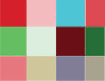Colored squares Royalty Free Stock Photo