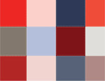 Colored squares Royalty Free Stock Photography