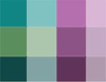Colored squares aqua Stock Photo
