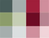 Colored squares aqua Stock Image