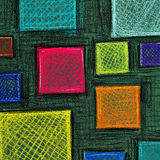 Colored squares. Royalty Free Stock Images