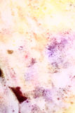 Colored stained paper Stock Photo