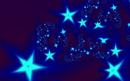Colored stars Royalty Free Stock Photo