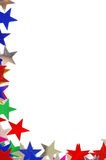 Colored stars background Royalty Free Stock Images