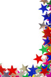 Colored stars background Royalty Free Stock Photos