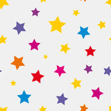 Colored stars Stock Images