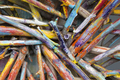 Colored sticks Royalty Free Stock Photo