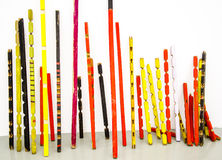 Colored sticks Royalty Free Stock Photos