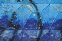 Colored concrete texture of painted fence wall Royalty Free Stock Images