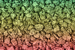 Colored stone background Royalty Free Stock Image