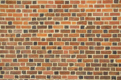 Colored stone brick pattern wall Royalty Free Stock Photos