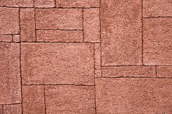 Colored Stone wall as background Stock Photos
