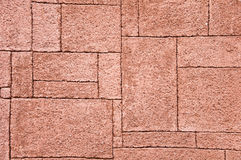 Colored Stone wall as background Stock Photography