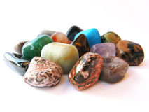 Colored stones Stock Photography