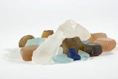 Colored stones stock photo