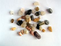 Colored stones background Royalty Free Stock Photos
