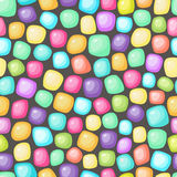 Colored stones background Stock Photos