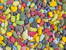 Bright colorful stones Royalty Free Stock Images