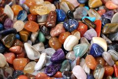 Colored stones Royalty Free Stock Photos