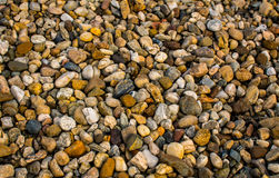 Colored Stones Texture. Rich colored river stones texture Royalty Free Stock Photo