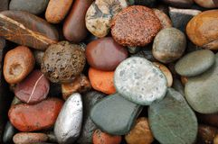 Colored stones Royalty Free Stock Images