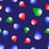 Colored Stratospheric Balloons Seamless Pattern Royalty Free Stock Photo