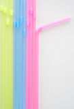 Colored straw Stock Photos
