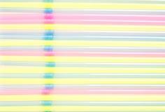 Colored straw Stock Photo