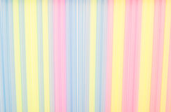 Colored straw Stock Images