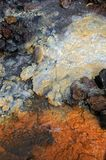 Colored stream Royalty Free Stock Image