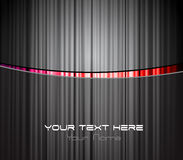 Colored stripe with place for your text. Stock Photo
