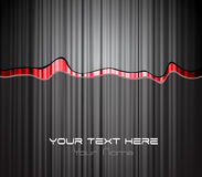 Colored stripe with place for your text. vector illustration