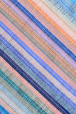 Colored Striped Fabric Background Stock Photography
