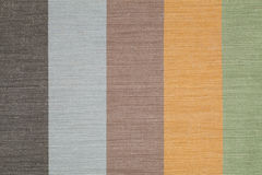 Colored striped linen background Royalty Free Stock Photo