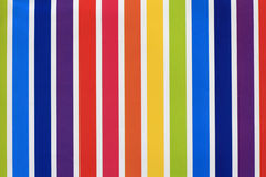 Colored striped paper Stock Images