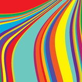 Colored stripes Royalty Free Stock Photos