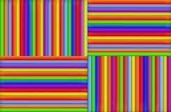 Colored Stripes. A background of colored stripes in four quadrants Royalty Free Stock Photography