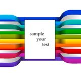 Colored stripes Royalty Free Stock Image