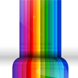 Colored stripes Stock Photo