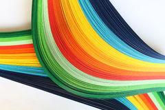 Colored stripes Stock Photography